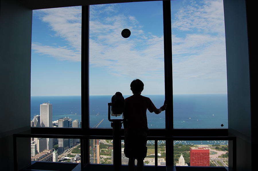 Chicago Photograph - Window To Discovery by Daniel Ness