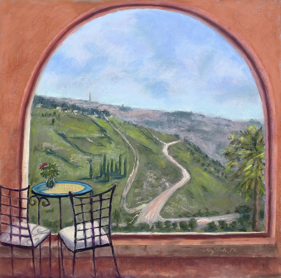 Window to Jerusalem by Mary Benke