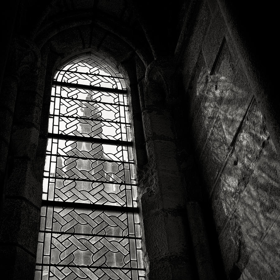 St Michel Photograph - Window To Mont St Michel by Dave Bowman