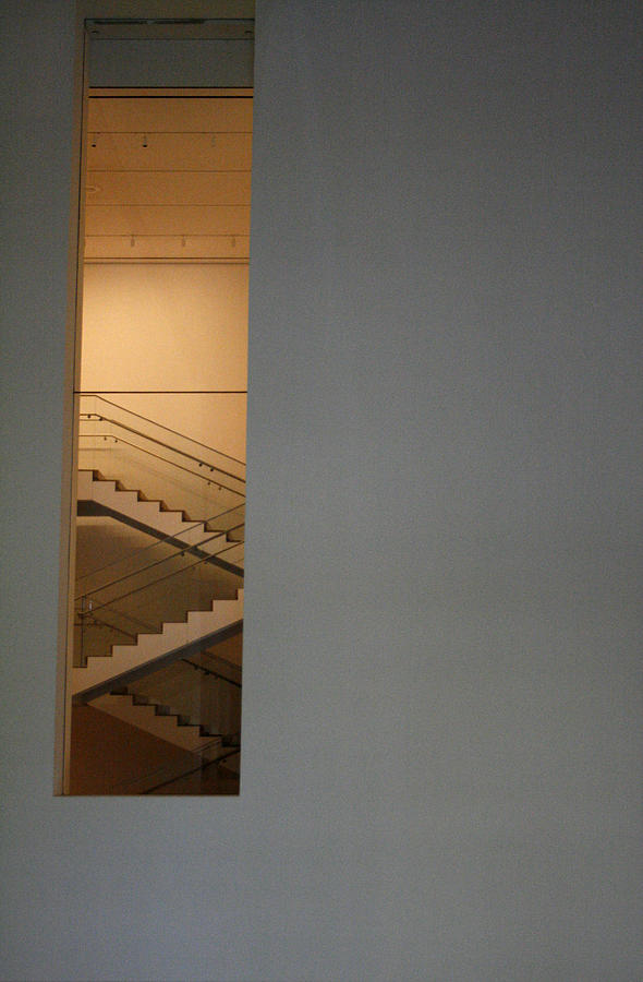 Stairs Photograph - Window To Stairs by Jeff Porter