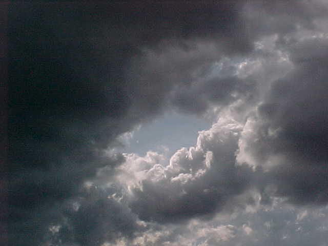 Clouds Photograph - Window To The Heavens by Ricky  Rayburn
