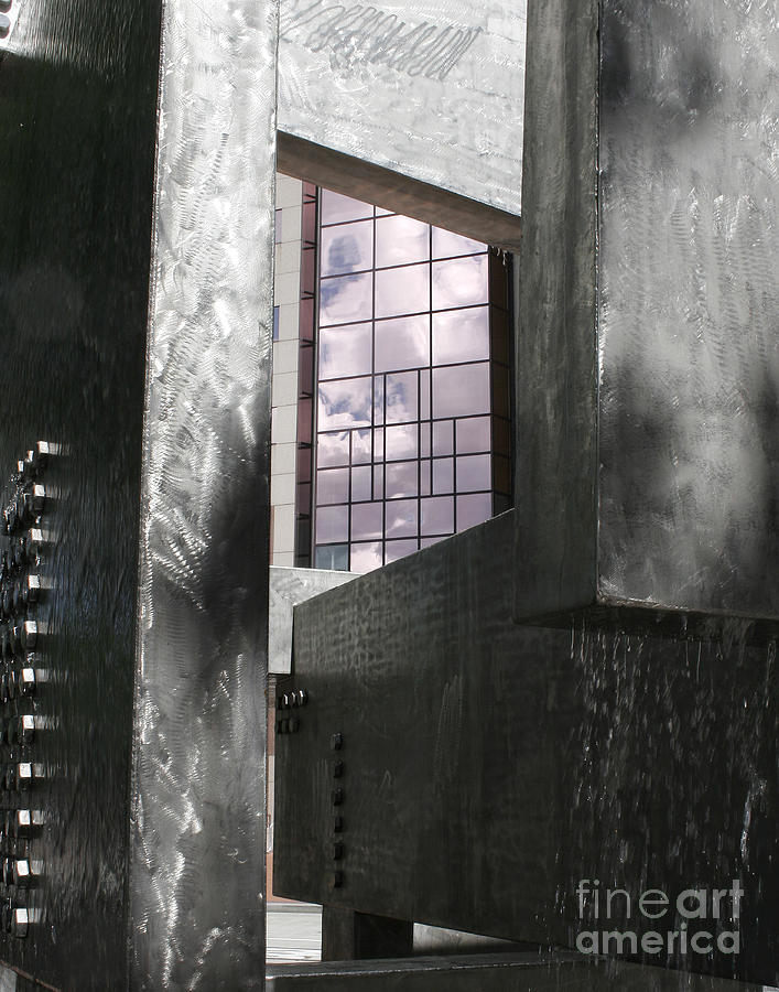 Digital Photography Photograph - Window To The Sky by Keith Dillon