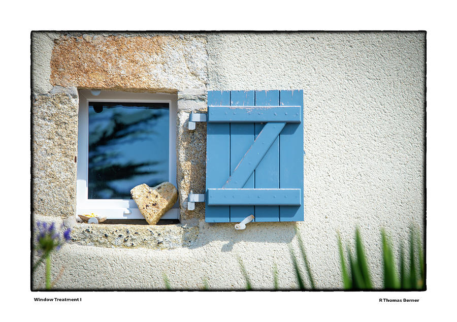 Window Treatment I by R Thomas Berner
