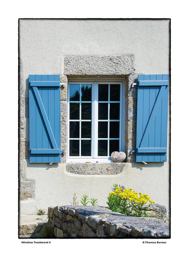 Window Treatment II by R Thomas Berner