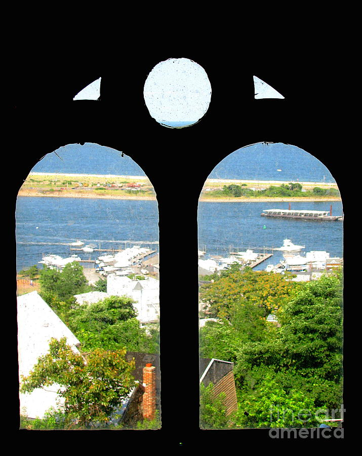 Window Photograph - Window View by Colleen Kammerer