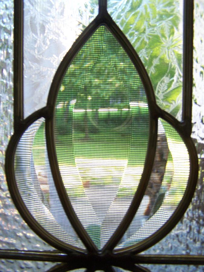 Garden Digital Art - Window View by Geraldine Liquidano