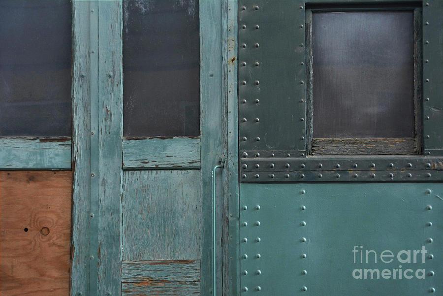Door Photograph - Windows And Doors by Dan Holm