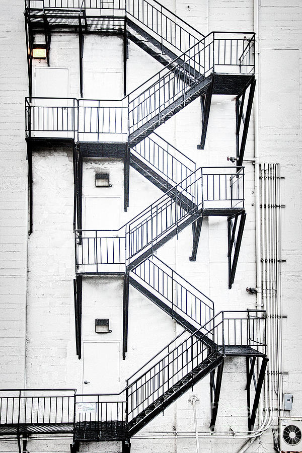 Windows and Stairs II by David Emond