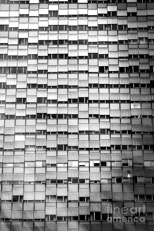 Windows Photograph - Windows - Black and White by Stefano Senise