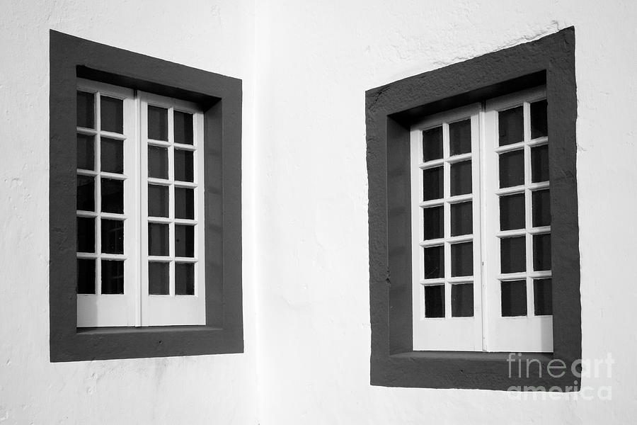 Azores Photograph - Windows by Gaspar Avila