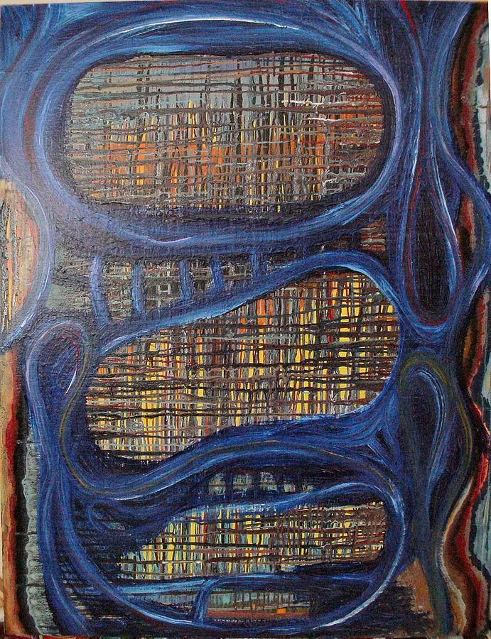 Windows In The Mind Painting by Jay Lonewolf