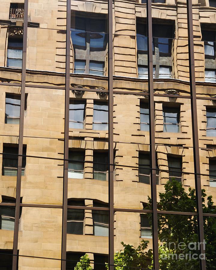Reflections Photograph - Windows In Windows by Hideaki Sakurai