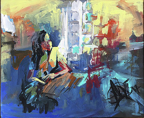 Windows Painting - Windows Light by Mariam Qureshi