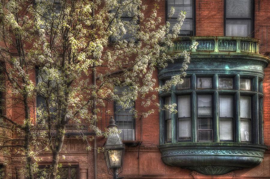 Back Bay Photograph - Windows Of Back Bay - Boston Architecture by Joann Vitali