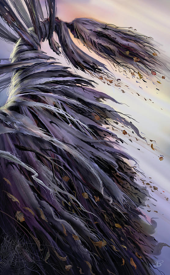 Fantasy Painting - Winds Of Change by Philip Straub