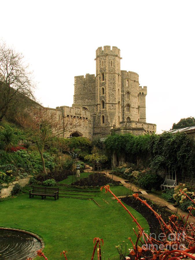 Windsor Castle In Winter Photograph