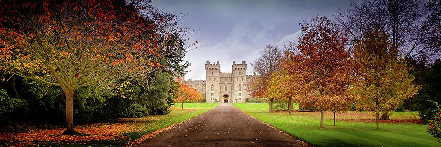 Castle Photograph - Windsor Warmer by Geoff Eccles