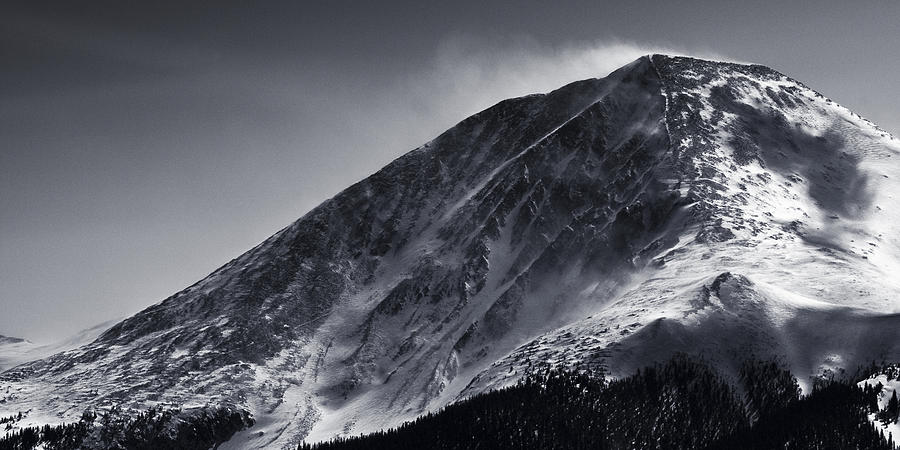 Mountain Photograph - Windswept by Ryan Heffron
