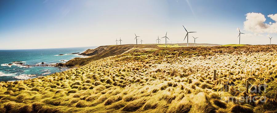 Energy Photograph - Windswept Tasmania by Jorgo Photography - Wall Art Gallery