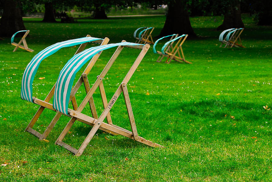Windy Chairs by Harry Spitz