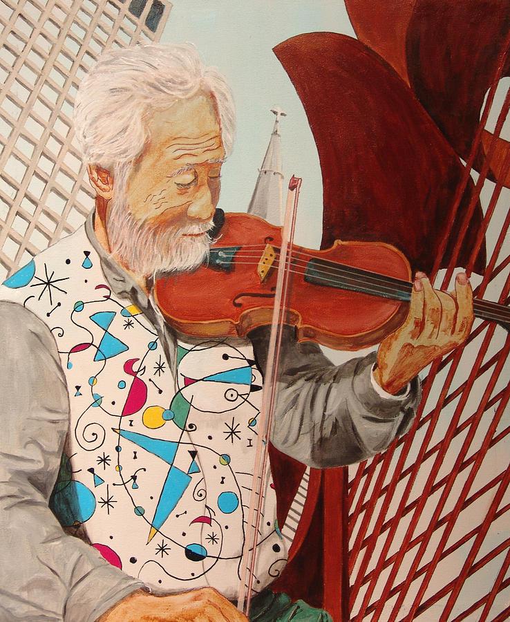 Kevin Callahan Painting - Windy City Blues by Kevin Callahan