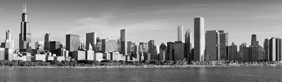 Chicago Photograph - Windy City Morning by Donald Schwartz
