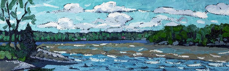 Cloud Painting - Windy Day by Phil Chadwick