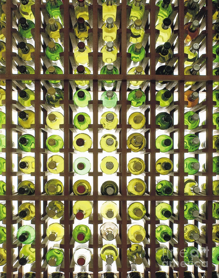 Wine Photograph - Wine Bottles by Greg  West