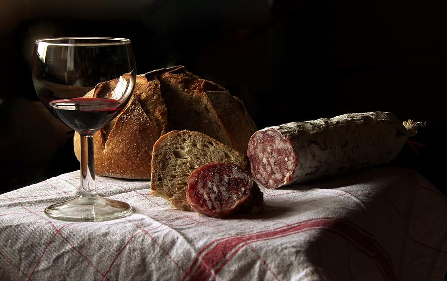 Wine Digital Art - Wine by Carlene Smith
