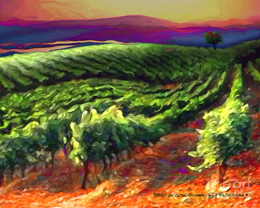 85b4456b76c Wine Country Painting by Mike Massengale