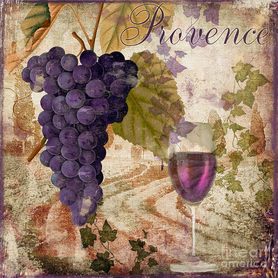 Wine Country Painting - Wine Country Provence by Mindy Sommers