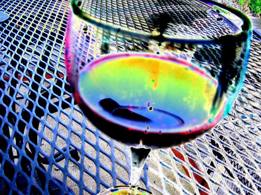 Wine Digital Art - Wine Horizontal by Peter  McIntosh