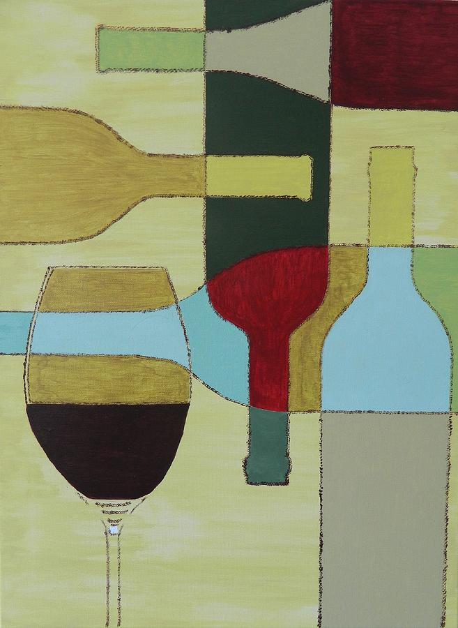 Painting Painting - Wine by Ken Pursley