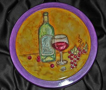 Wine Mixed Media by Mickie Boothroyd