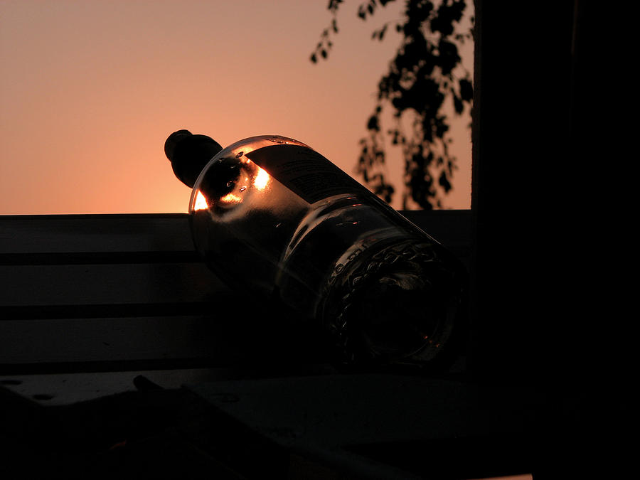Wine Photograph - Wine On Down by Mike Mooney