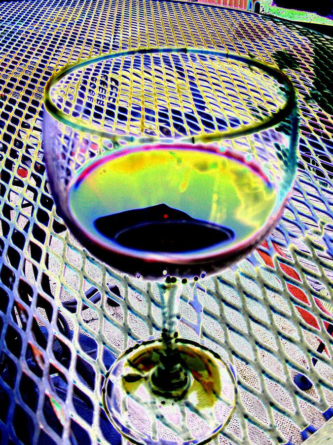 Wine Digital Art - Wine Vertical by Peter  McIntosh