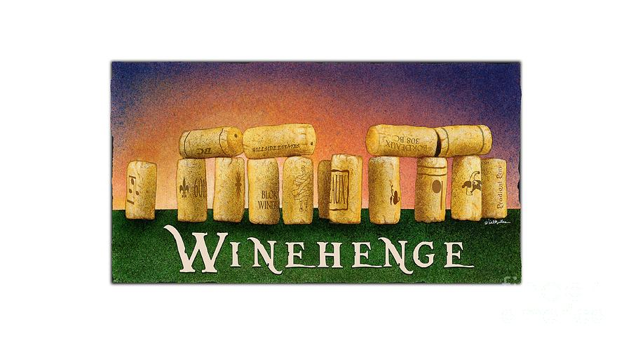 Will Bullas Painting - Winehenge by Will Bullas
