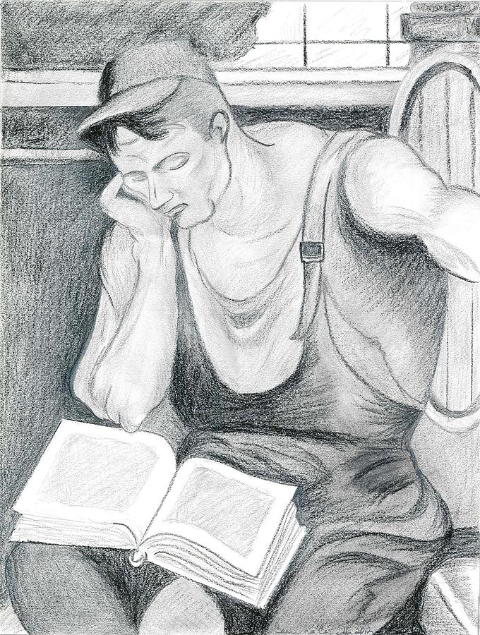 Palm reading drawings fine art america palm reading drawing winemaker at rest by bernardo capicotto m4hsunfo