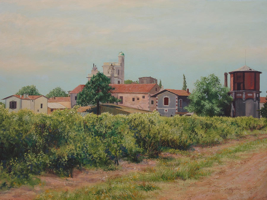 Winery in Provence by E Colin Williams ARCA