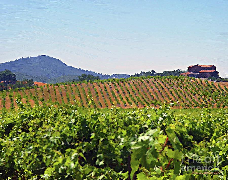 Winery Mixed Media - Winery by Jerry L Barrett