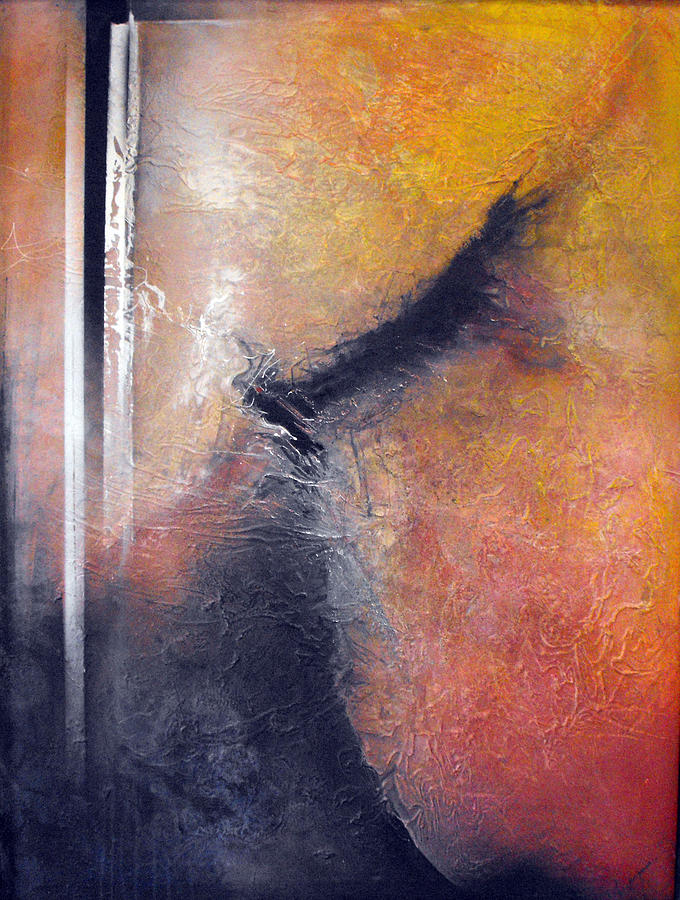 Mixed Media Painting - Wing by Ralph Levesque