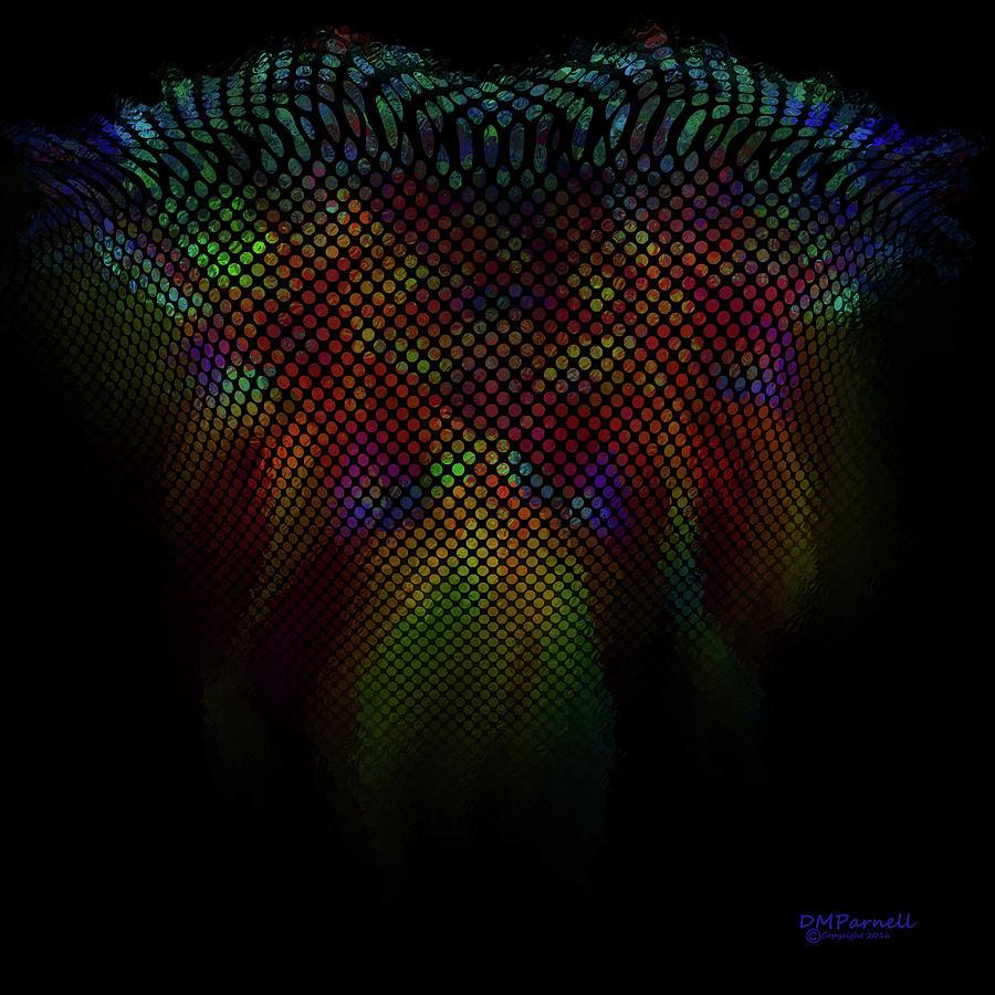 Wings Digital Art - Wing Trails Neon Fade by Diane Parnell