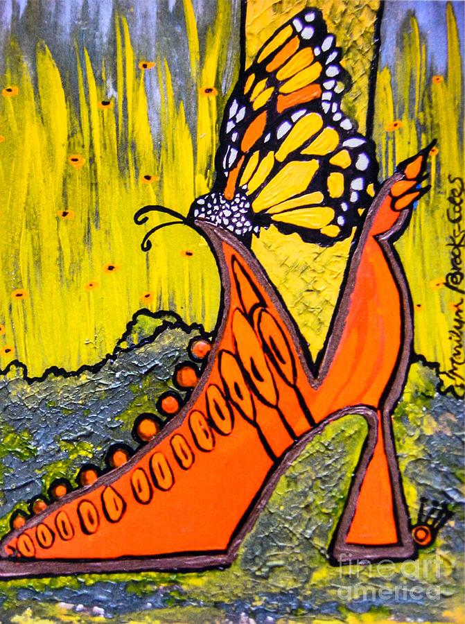 Wing Walking by Marilyn Brooks