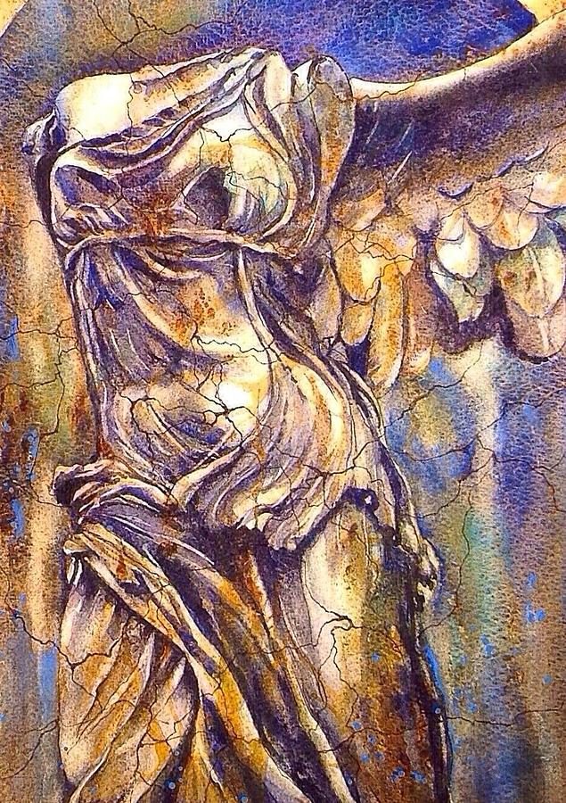 Winged Victory Painting by Fran McGarry