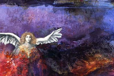 Magical Realism Painting - Wings by Marne Adler