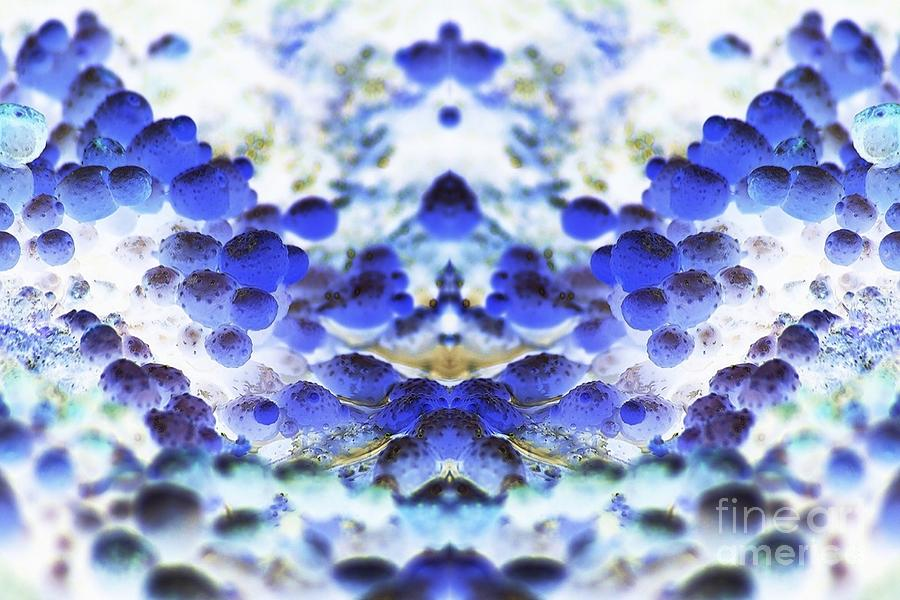 Abstract Digital Art - Wings Of Blue by Lorles Lifestyles