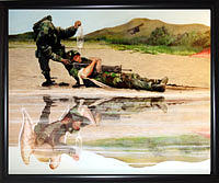 Army Painting - Wings Of Hope by Todd Krasovetz