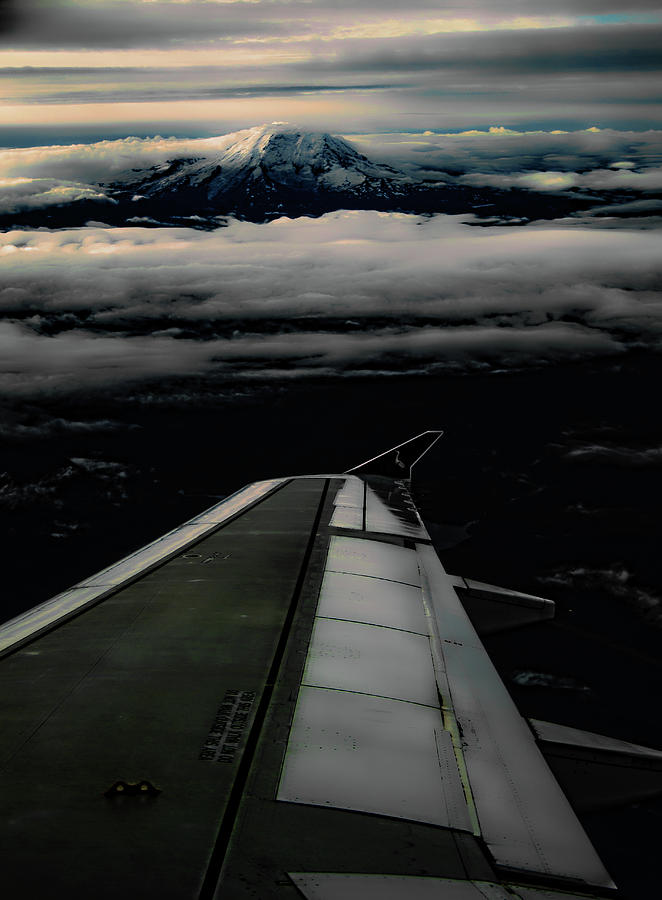 Wings Over Rainier by Jeffrey Jensen