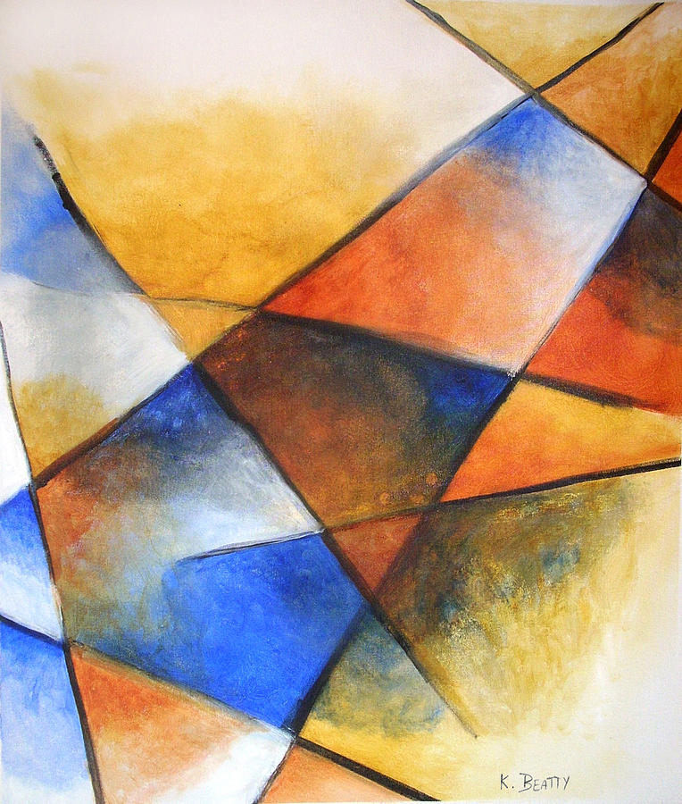 Abstract Painting - Wings to Fly by Karla Beatty