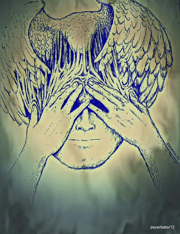 Meditation Digital Art - Wings To The Thoughts by Paulo Zerbato